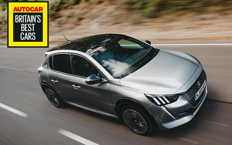Britain's Best Electric Car 2020: Peugeot e-208