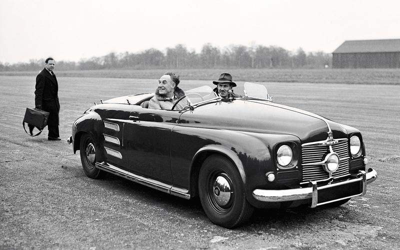 GAS TURBINE: Rover JET1 (1950)