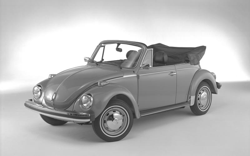 The Beetle exits America (1979)