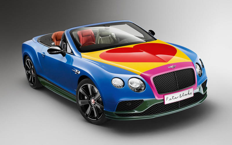 Bentley Continental GTC by Sir Peter Blake (2016)