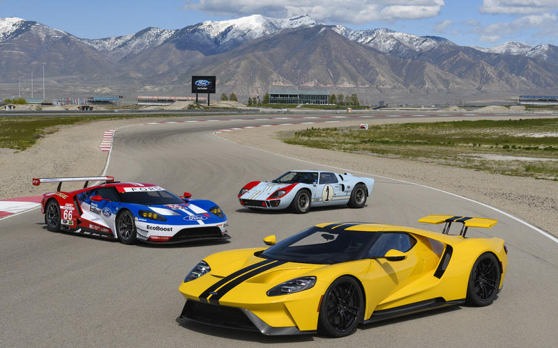 1: Ford GT (2017)