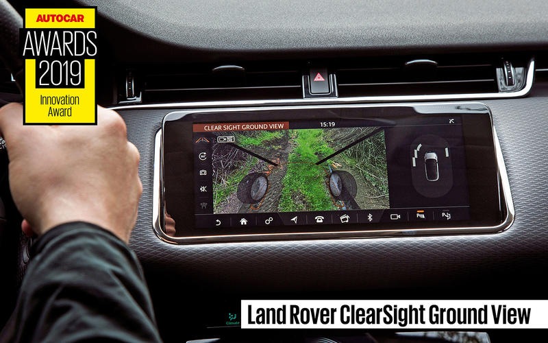 INNOVATION AWARD: Land Rover Clearsight Ground View