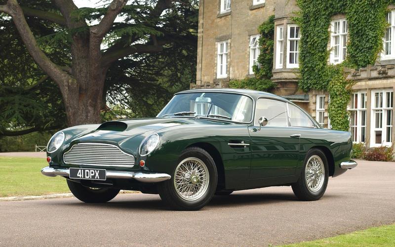 1960s: Aston Martin DB4 GT
