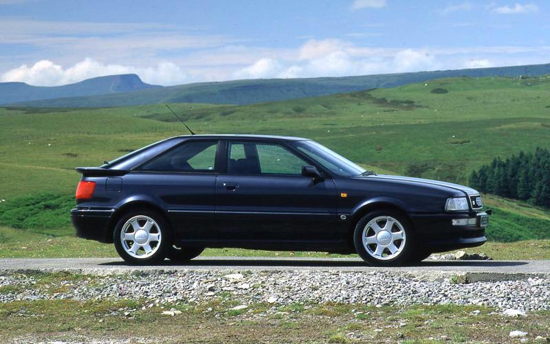 Audi Coupe – from £1000