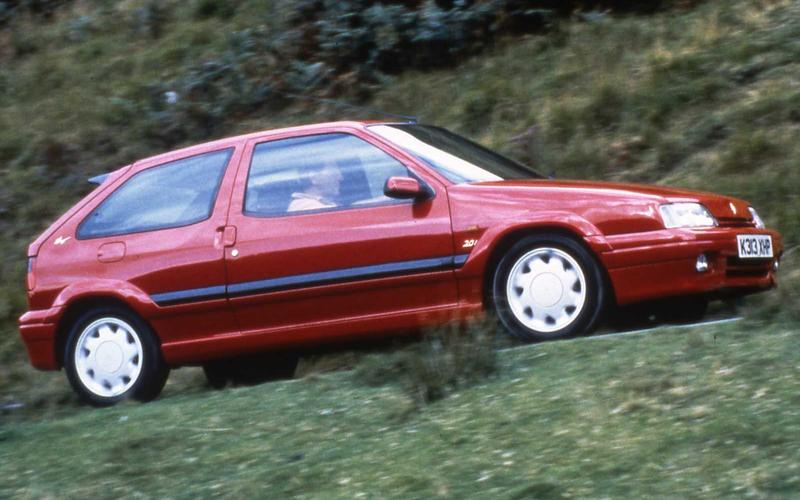 Citroen ZX 16v – 4 on the road