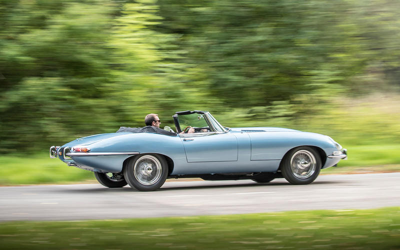 The E-Type goes electric