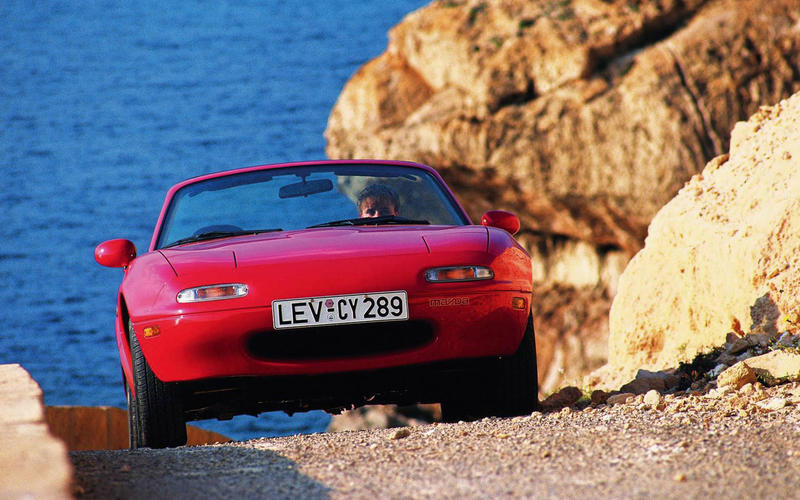 The MX-5 comes to Europe