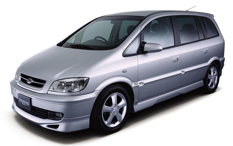 Vauxhall/Opel Zafira (2001) – 3 models