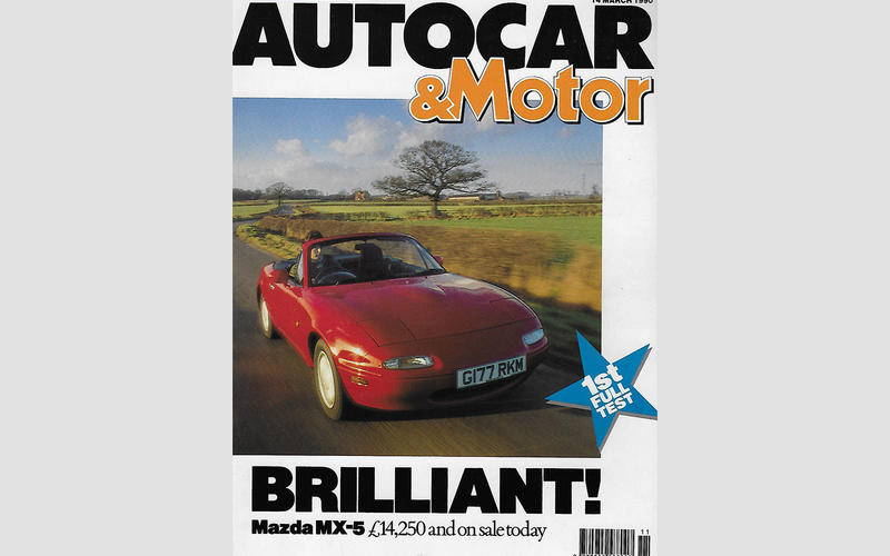 Autocar's first drive