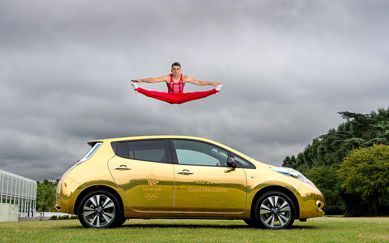 Nissan Gold Leaf (2016)