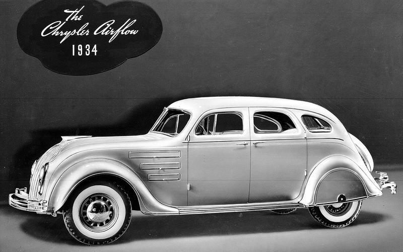 OVERDRIVE: Chrysler Airflow (1934)