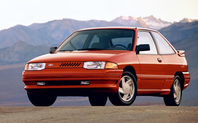 Escort (second generation for America, 1991)