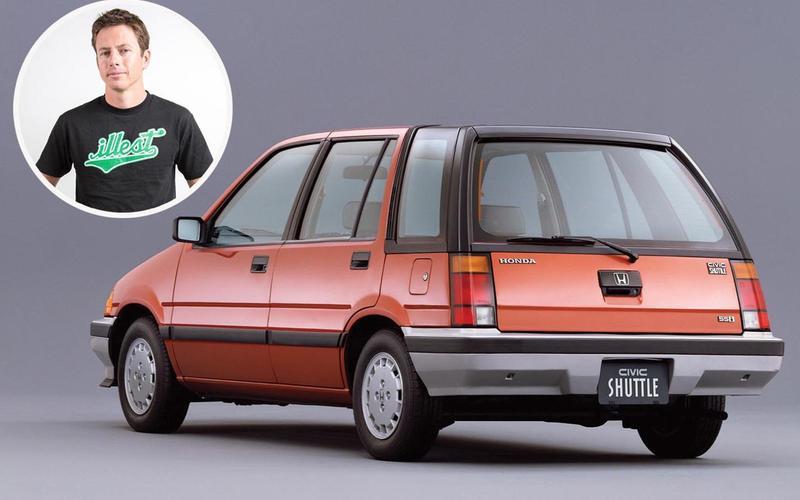 Tanner Foust - Honda Civic Wagon