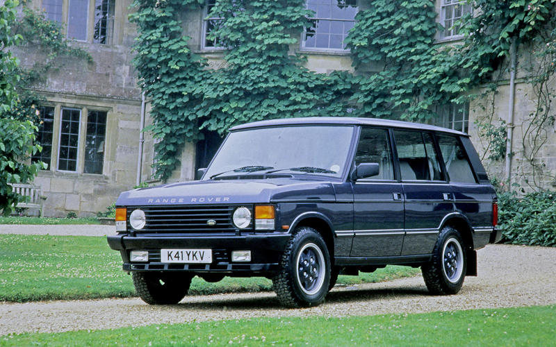 The ultimate factory Range Rover?