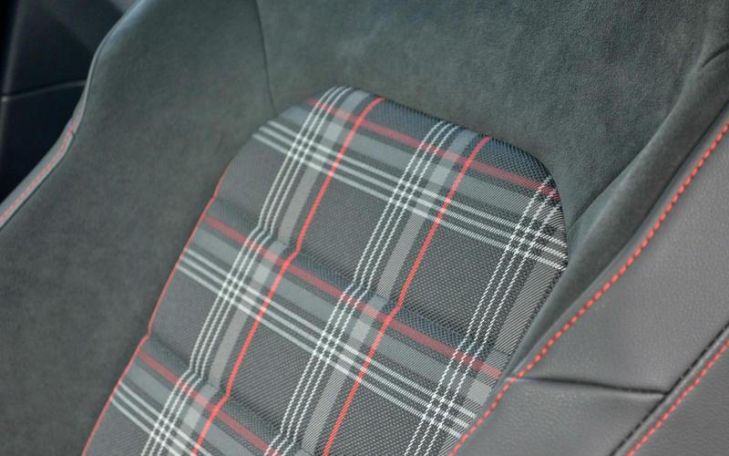Volkswagen GTI – tartan upholstery