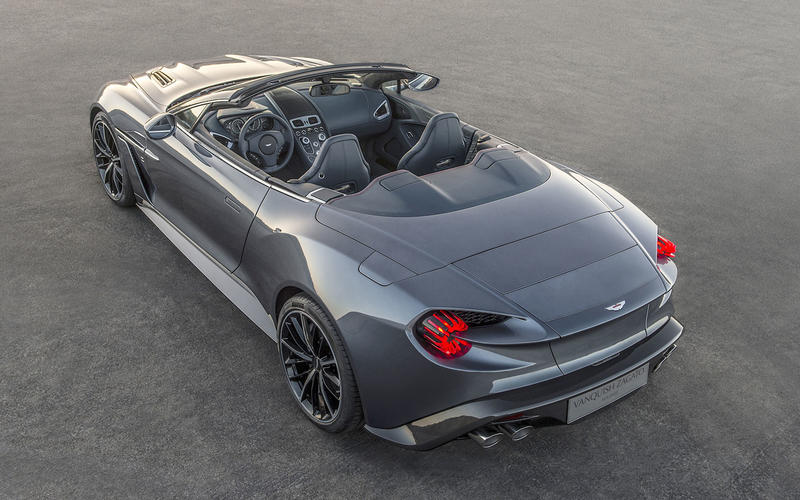 Aston Martin Zagato Vanquish Speedster (2017)