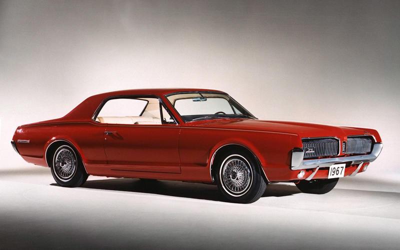 7: 1967 Mercury Cougar