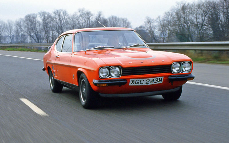 76. 1969 Ford Capri 3000 GT (DOWN 15)