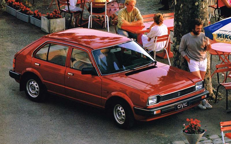 Honda Civic (Pulp Fiction, 1994)