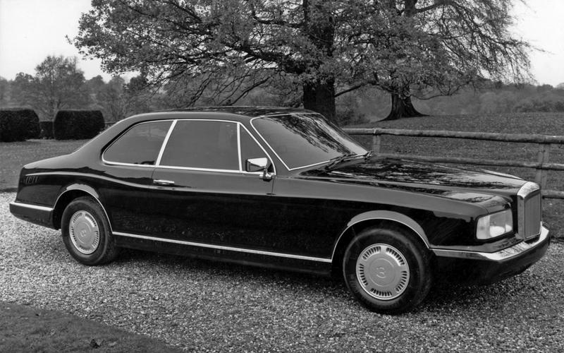 Bentley Project 90 (1985)