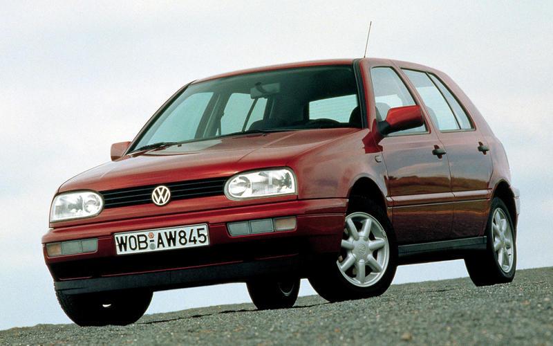 1992: Volkswagen Golf