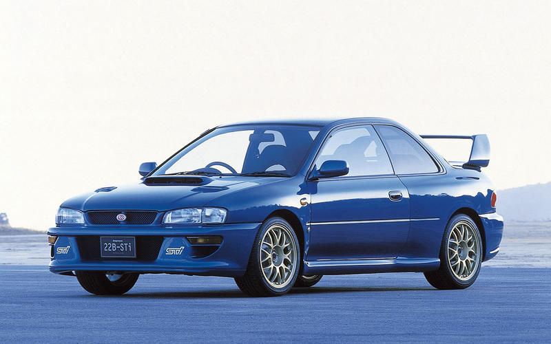 Subaru Impreza 22B-STI (1998)