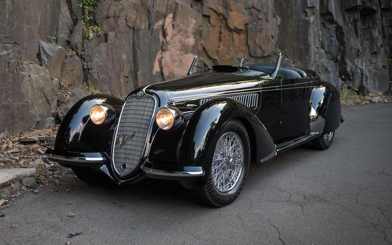 1939 Alfa Romeo 8C 2900B Lungo Spider