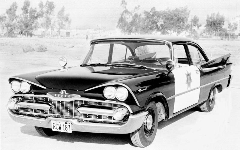 52: Dodge Coronet Police Car (USA)