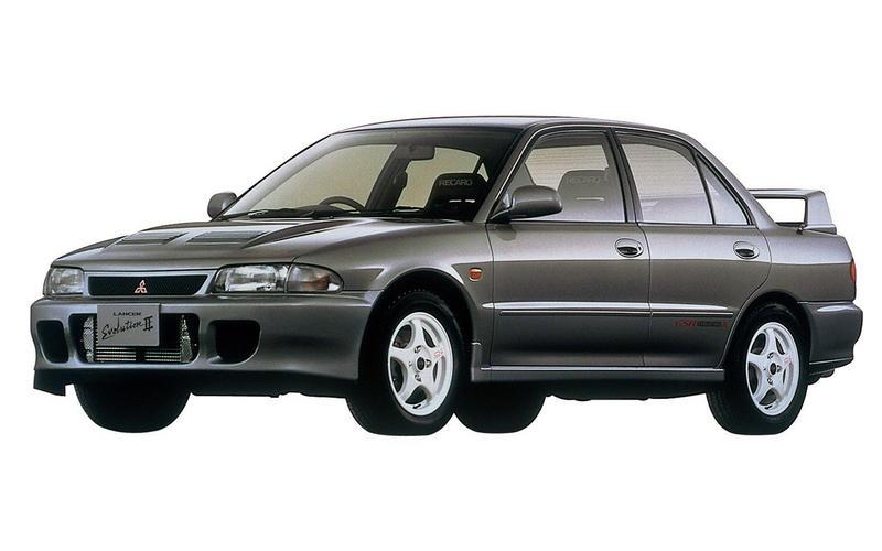 Lancer Evo II (1993)
