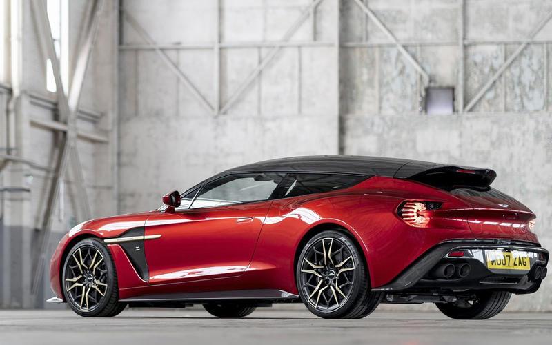 Aston Martin Zagato Vanquish Shooting Brake (2017)