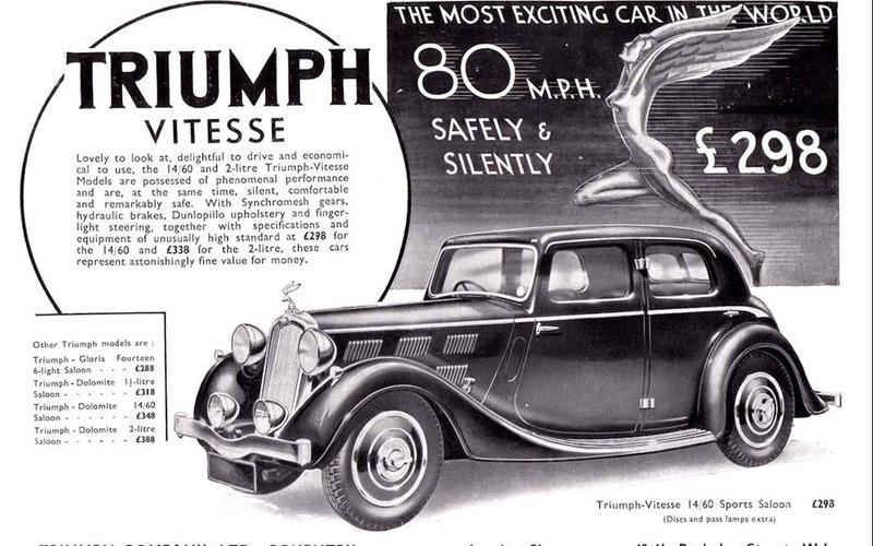 WINDSHIELD WASHERS: Triumph (1935)
