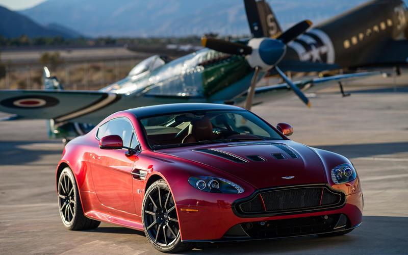 2010s: Aston Martin V12 Vantage S manual