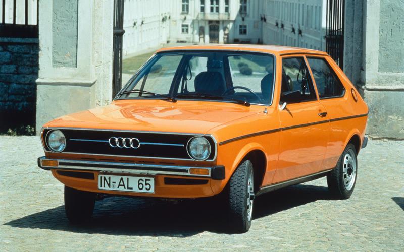 Audi stands alone