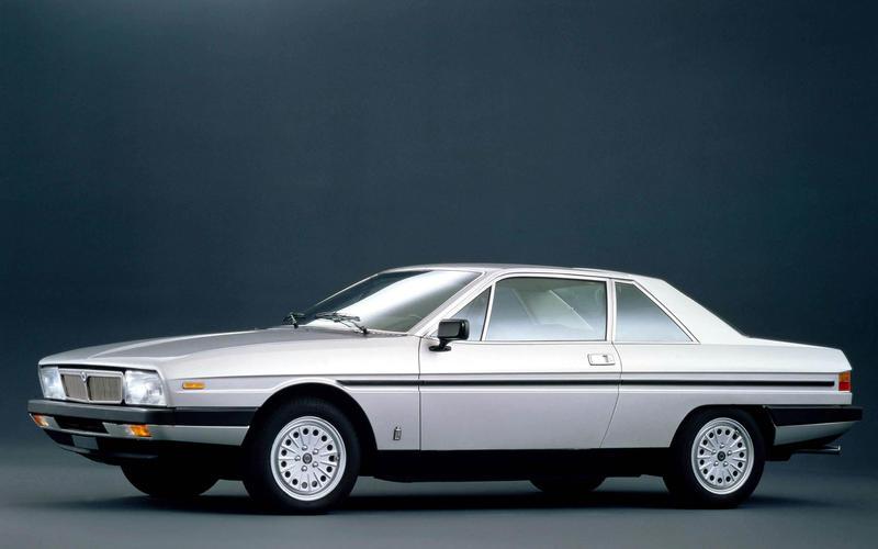 Lancia Gamma coupé: 1976