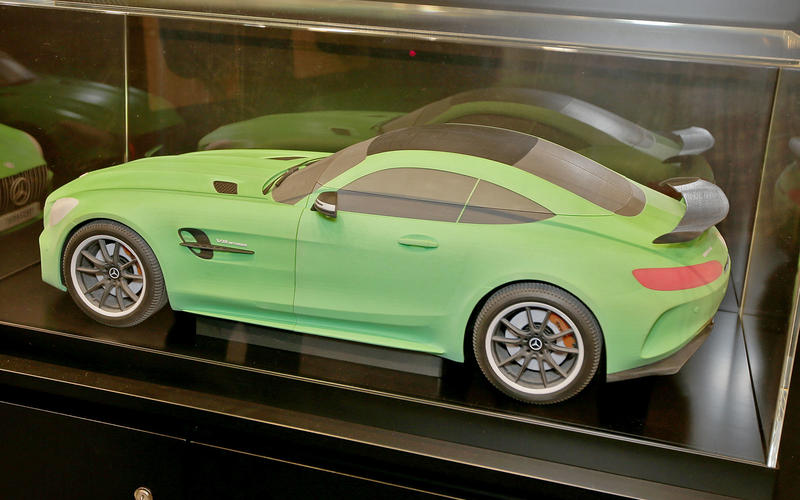Mercedes-AMG GT 3D Printed Car