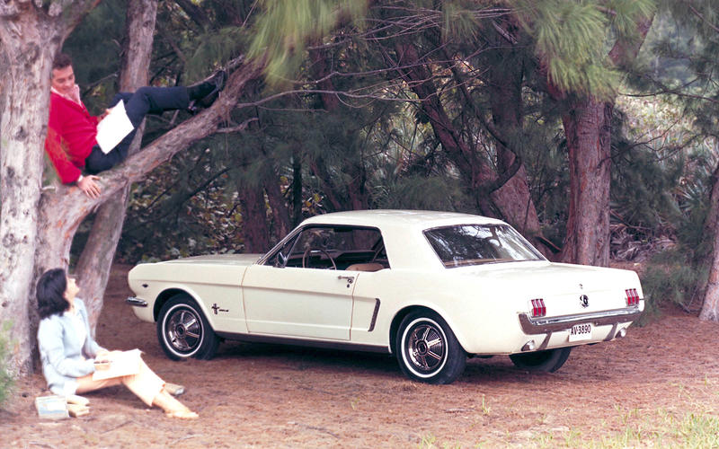 3: 1964 ½ Ford Mustang