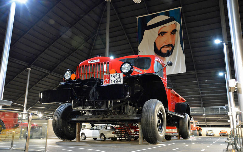 The giant Dodge Power Wagon