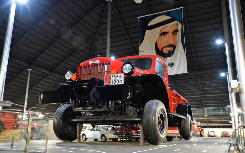 Scaled-up Dodge Power Wagon