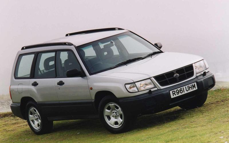Subaru Forester (Inside Out, 2015)