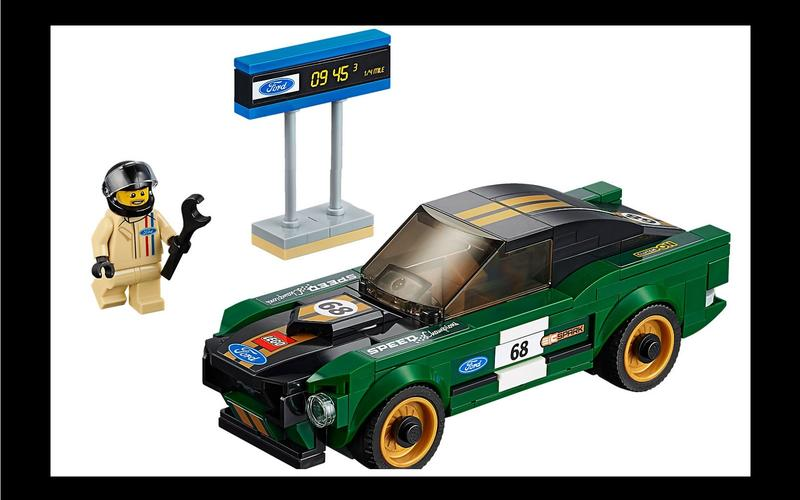 Ford Mustang Fastback (Speed Champions set #75884, US$12/£16)