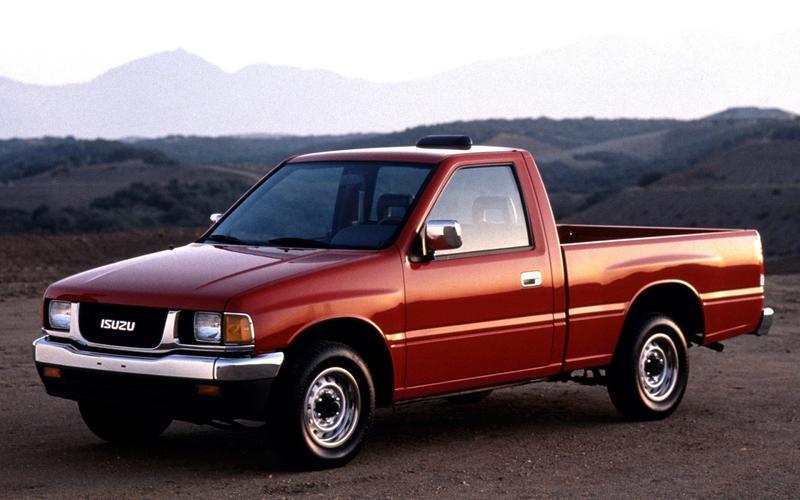 Carbureted car sold new in America: Isuzu Pickup, 1994
