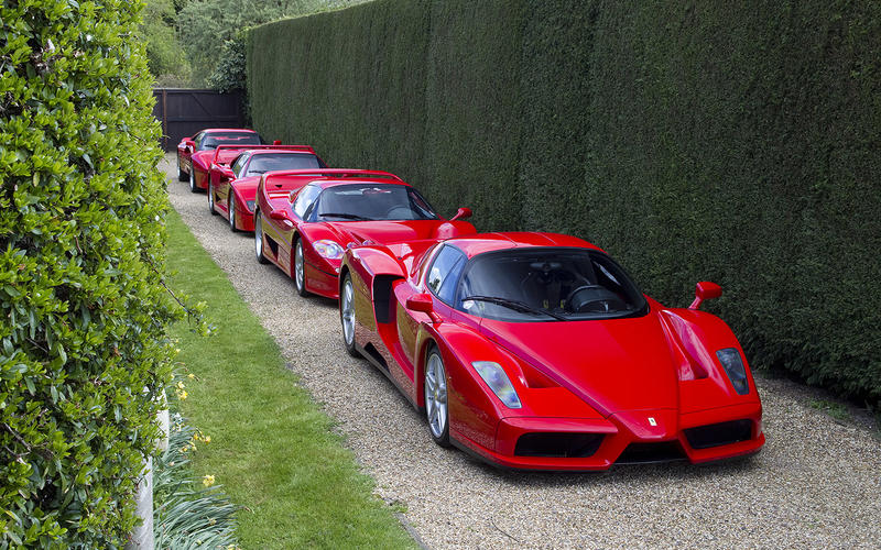 Ferrari Fest When We Got Gto F40 F50 Enzo All Together Autocar