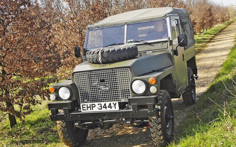 Land Rover Lightweight (Series IIA)