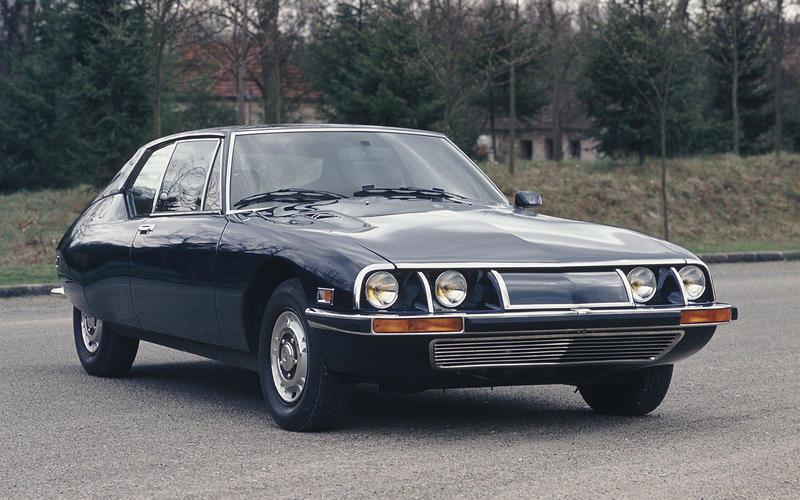 Citroën: SM (1974)