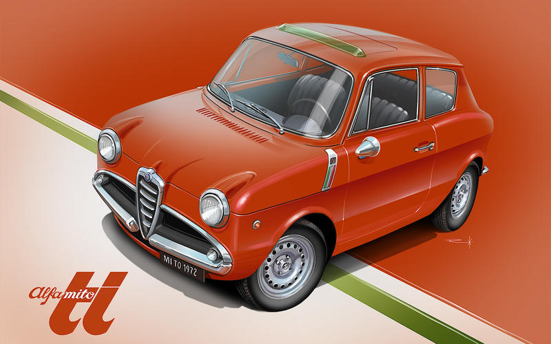 1960 ALFA ROMEO GINA – 'ALFA ROMEO MiTO'