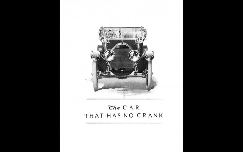 ELECTRIC STARTER: Cadillac (1912)