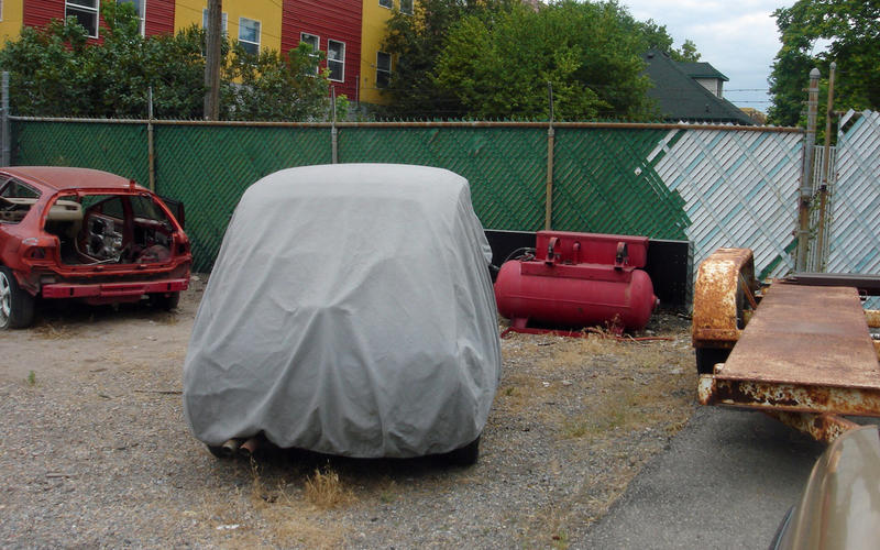 Keeping a car under a cover all the time