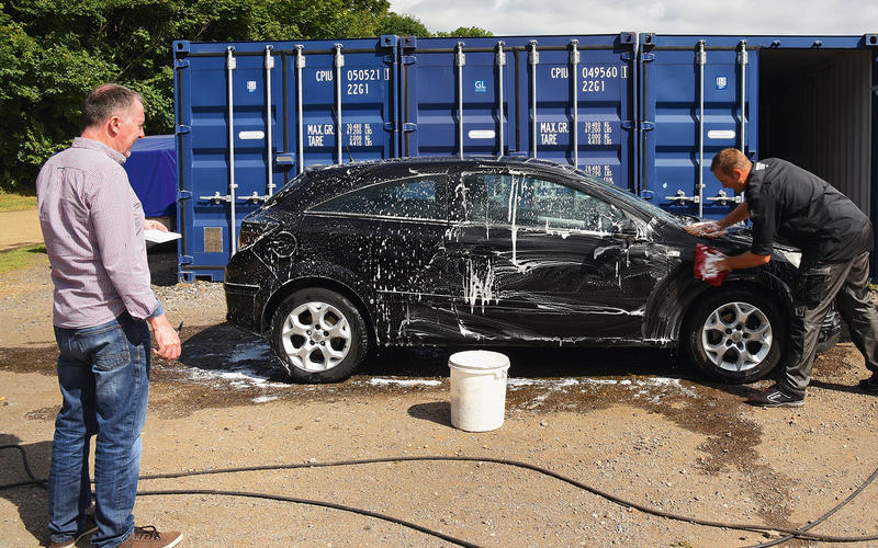 First things first: what's the best way to wash a car?