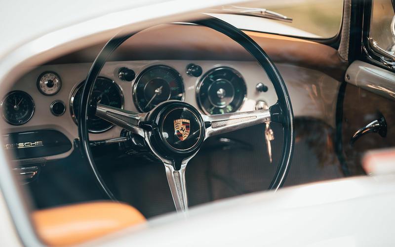 Inside the Porsche 356