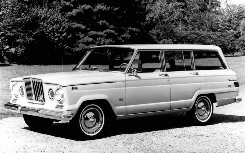 Jeep launches the Wagoneer (1962)